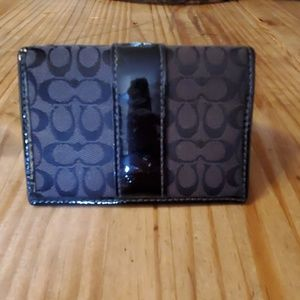 Authentic Coach ID/Card holder